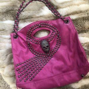 Handbags - Rocken Skull studded purse